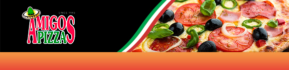 Amigos Pizza Bundbanner